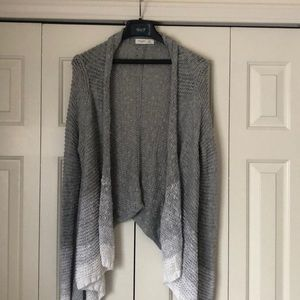 Ombré Grey and White Gilly Hicks Sweater
